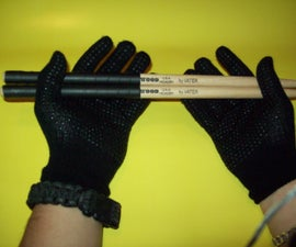 Cheap Drumstick Tape and Drum Gloves