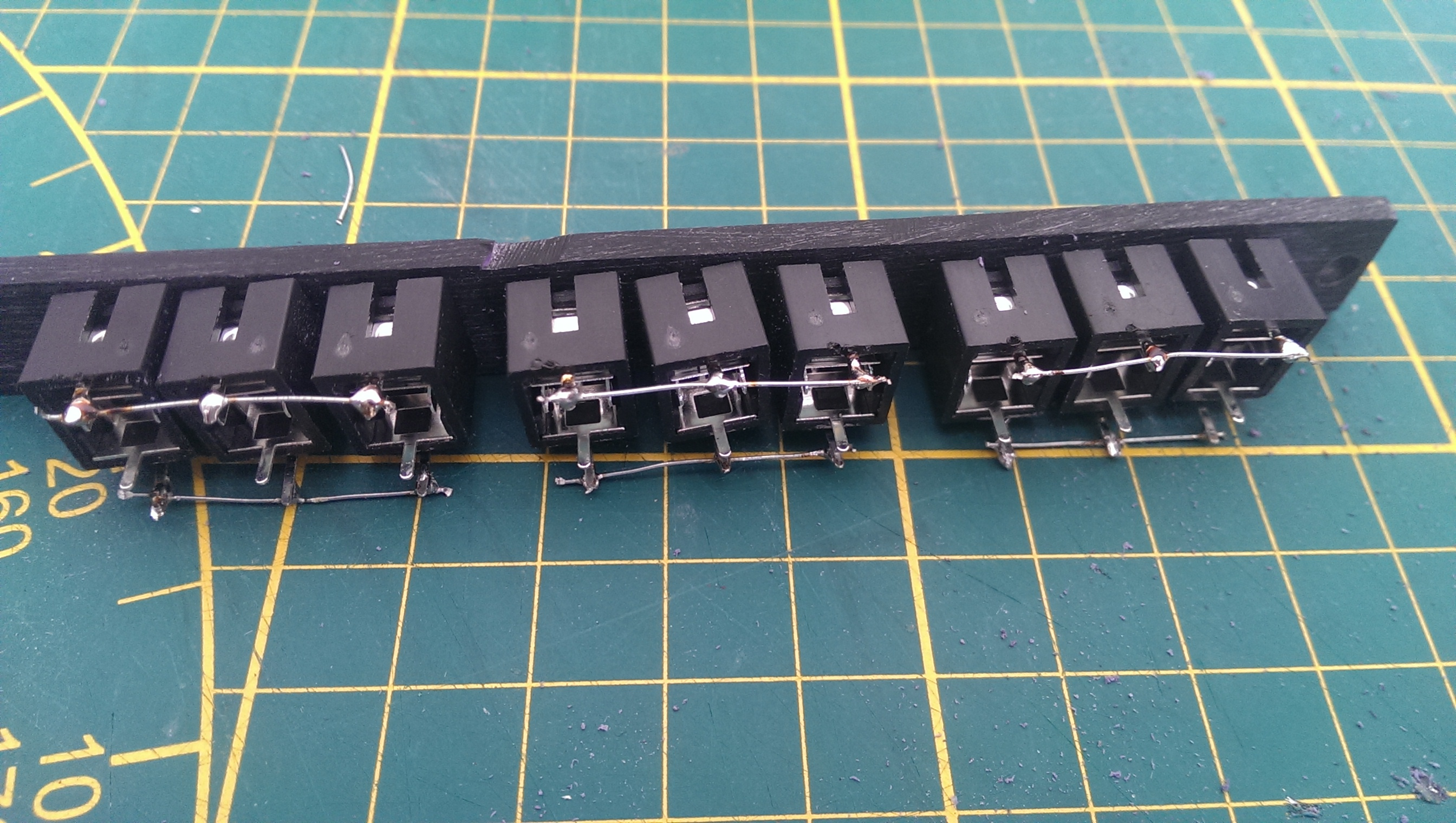 Picture of Solder the Pins Together