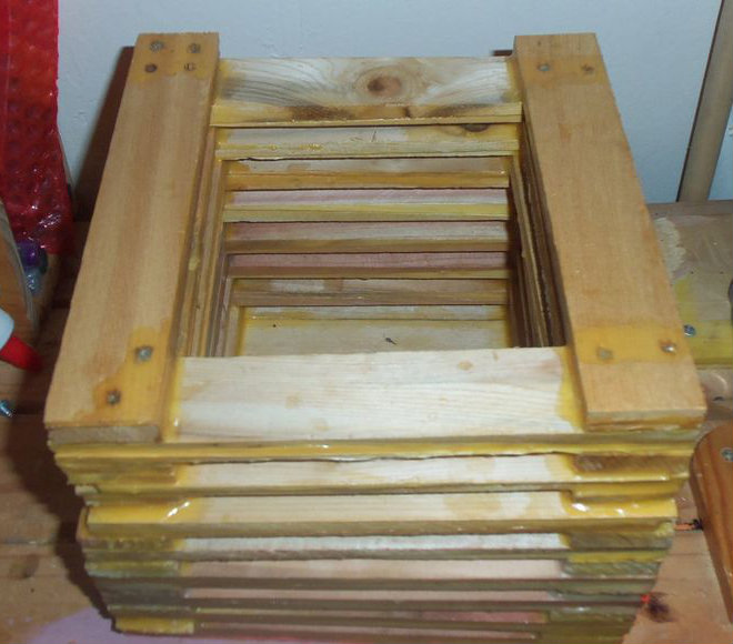 Picture of Build Up Walls of Box