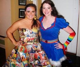 Comic Girl Costume