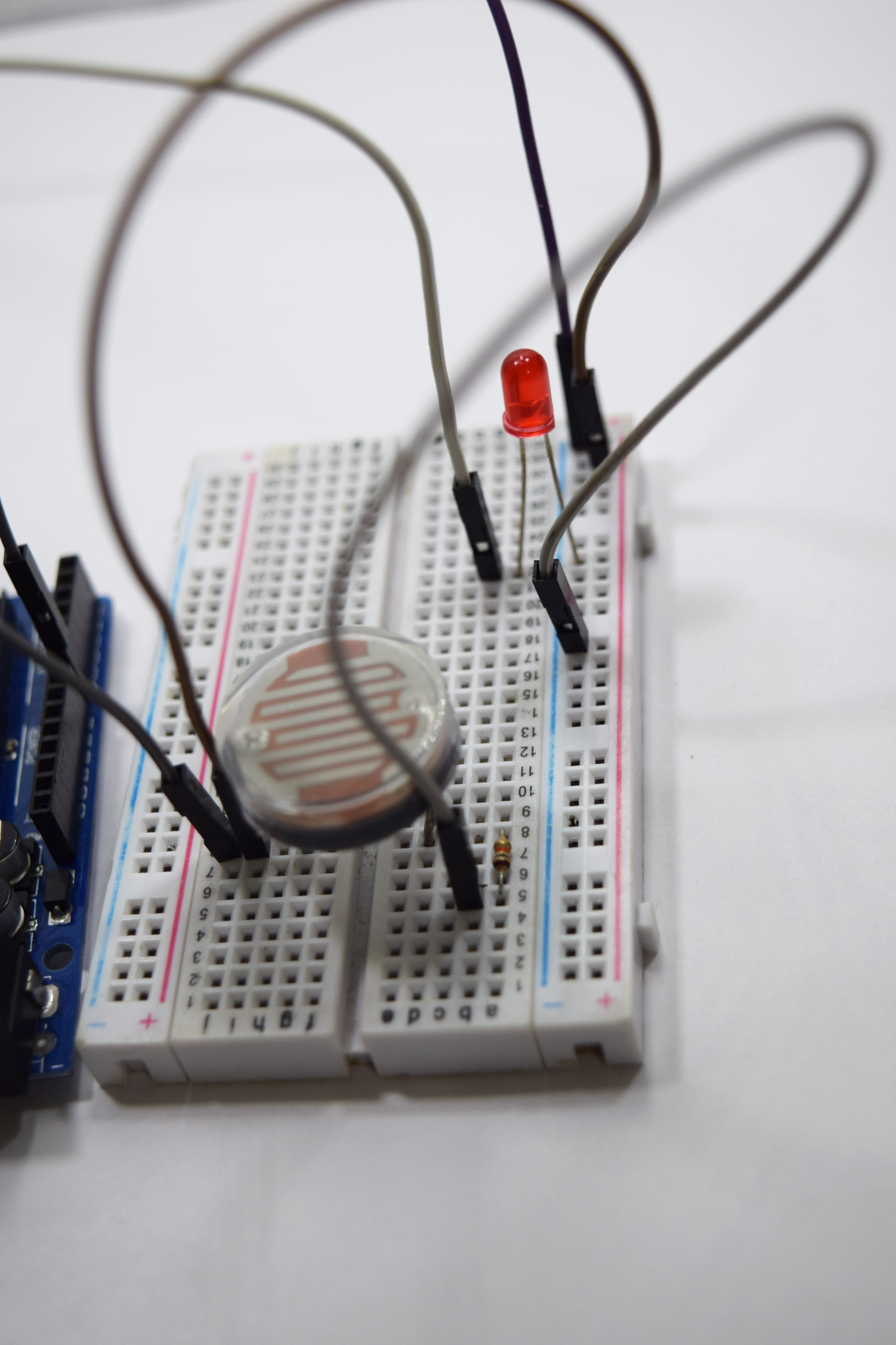 Picture of LDR Interface: