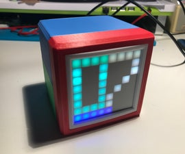 RGB Box Clock