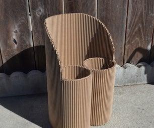 Child-sized Cardboard Chair