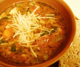 How to Make Pistou Soup