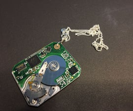 HDD Necklace