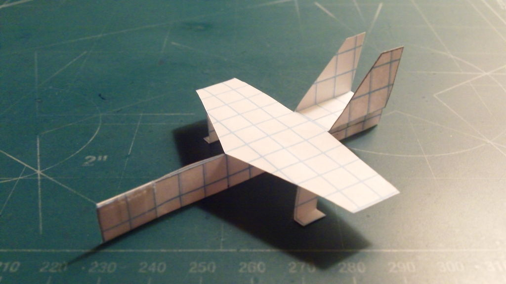 Picture of How to Make the AeroHornet Paper Airplane