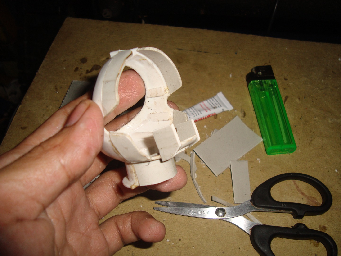 Picture of Making a Head and Body Frame