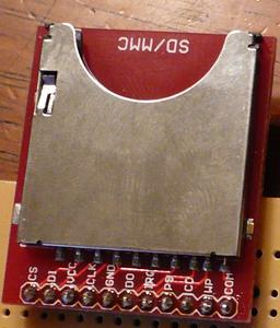 Assemble the SD-MMC Card Breakout Board