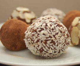 rum balls / romkugler / rum truffles