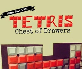 Tetris Chest of Drawers