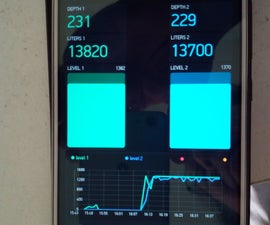 Water Tank Levels by WiFi on Your Phone