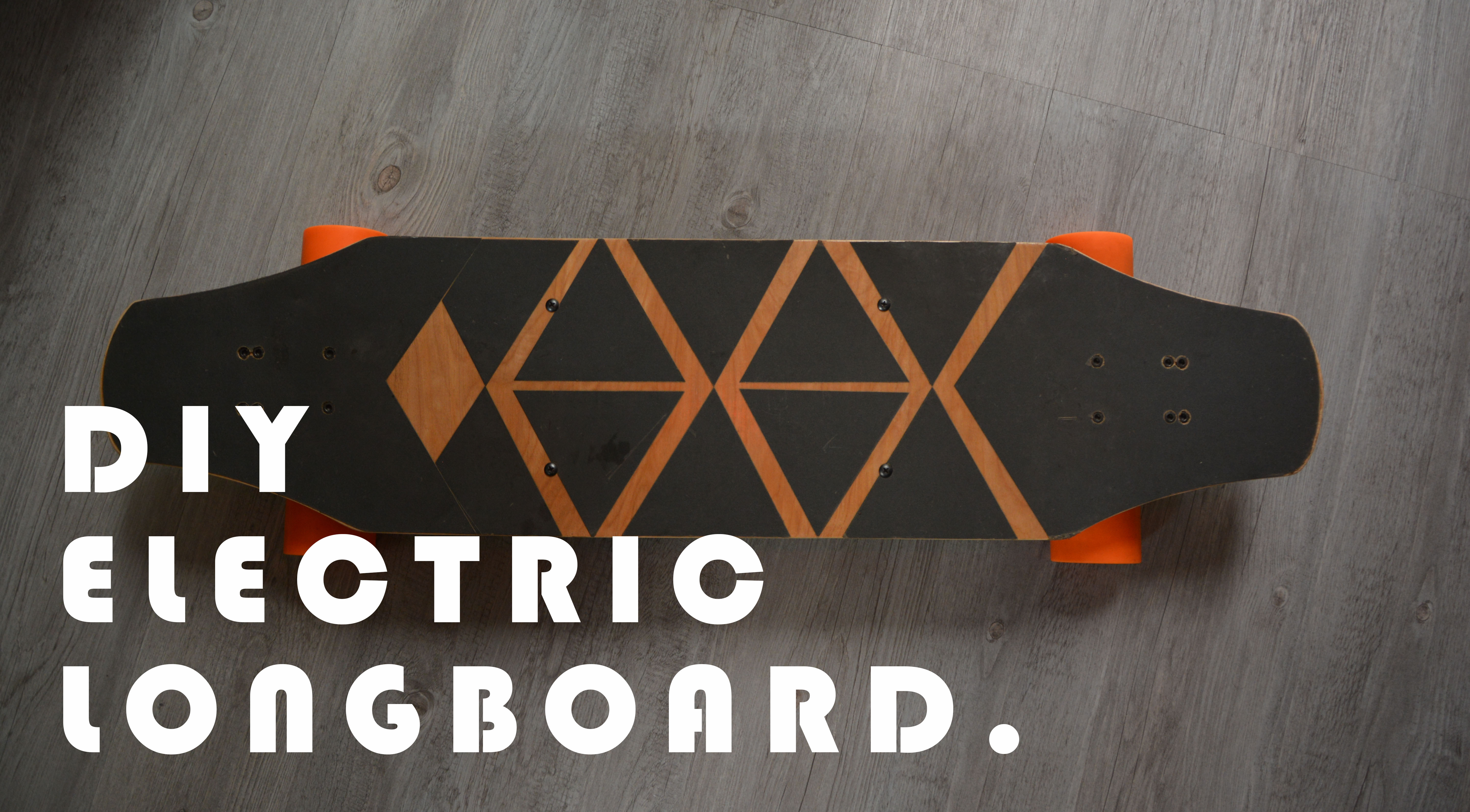 Picture of DIY Electric Longboard for 146$ or 4638฿