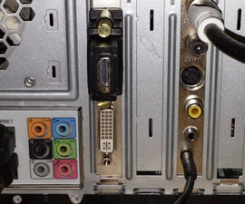 How to convert an Nvidia Video card DVI output to HDMI with Audio for HTPC