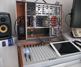 Build your own low-cost Eurorack-Suitcase