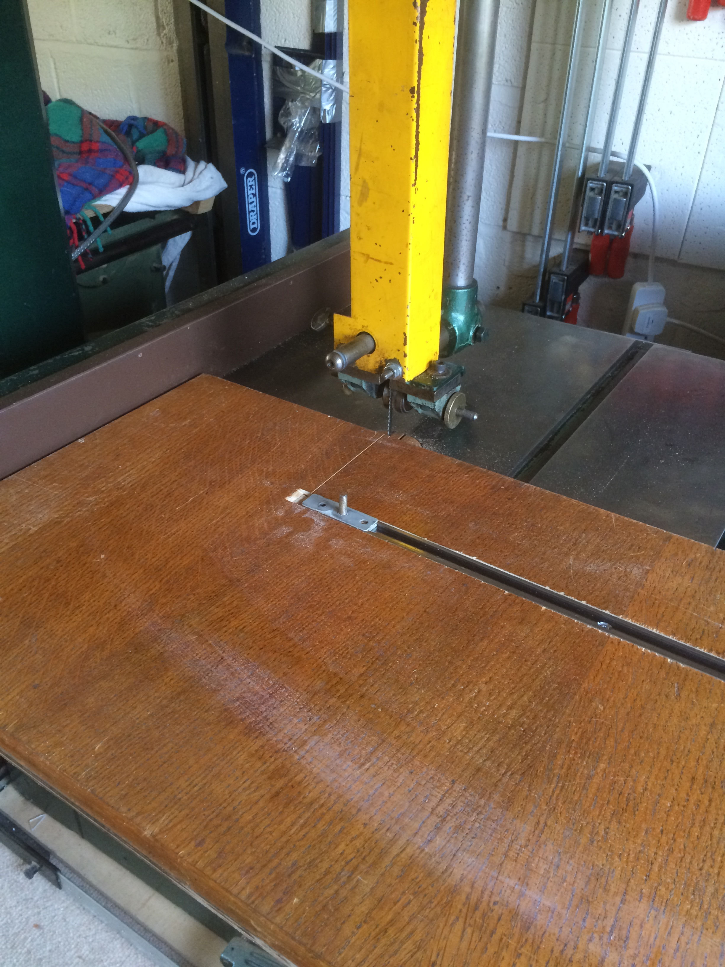 Picture of Bandsaw Circle Cutting Jig for Porthole
