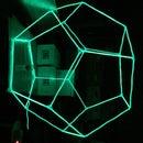 Glow-decahedron Sculpture