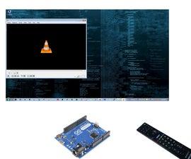 USB IR Remote Control For your  Desktop / Laptop