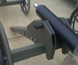 Mountain Howitzer Golf Ball Cannon