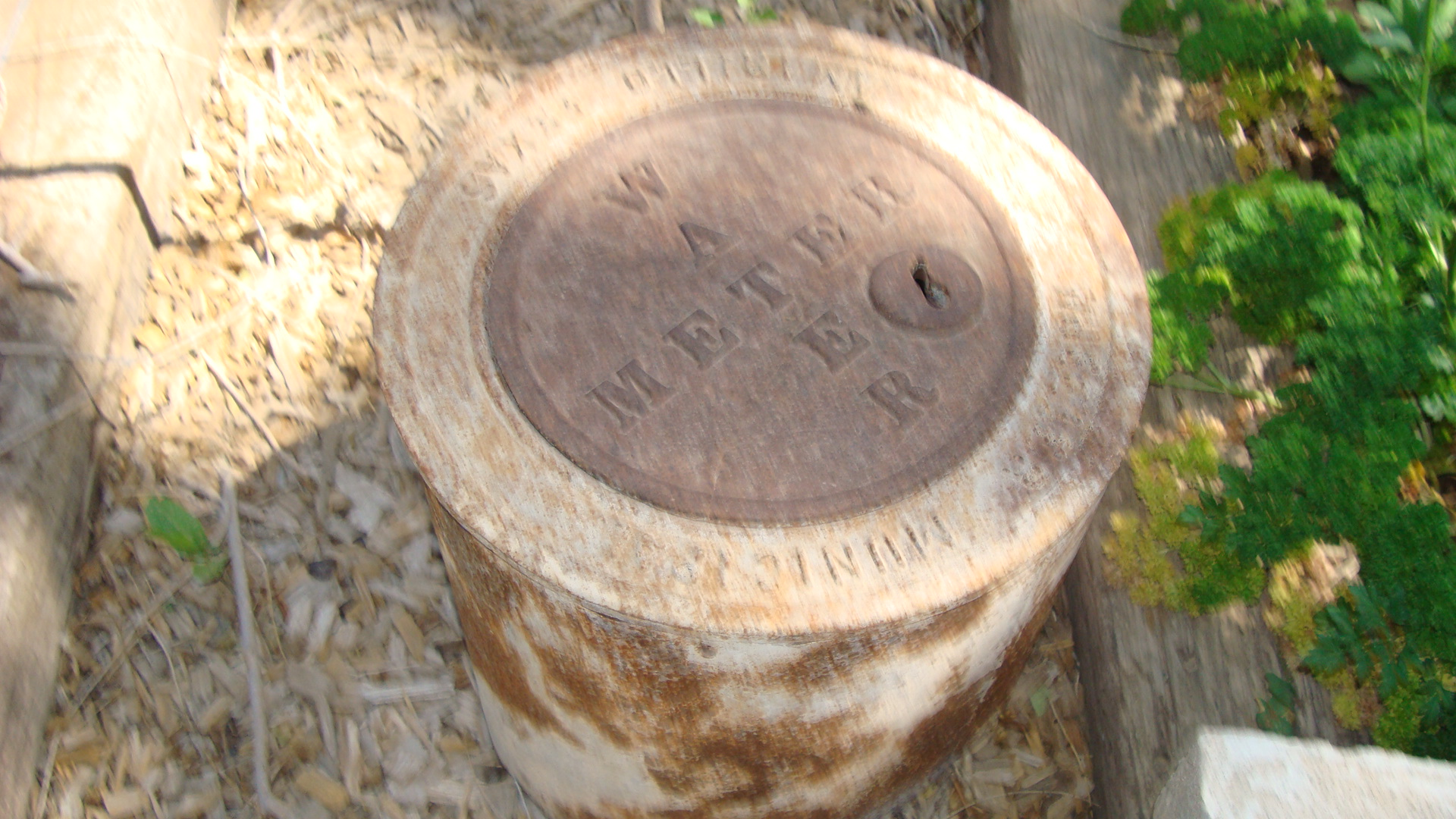 Picture of OLD WATER METER FOR PERCHER