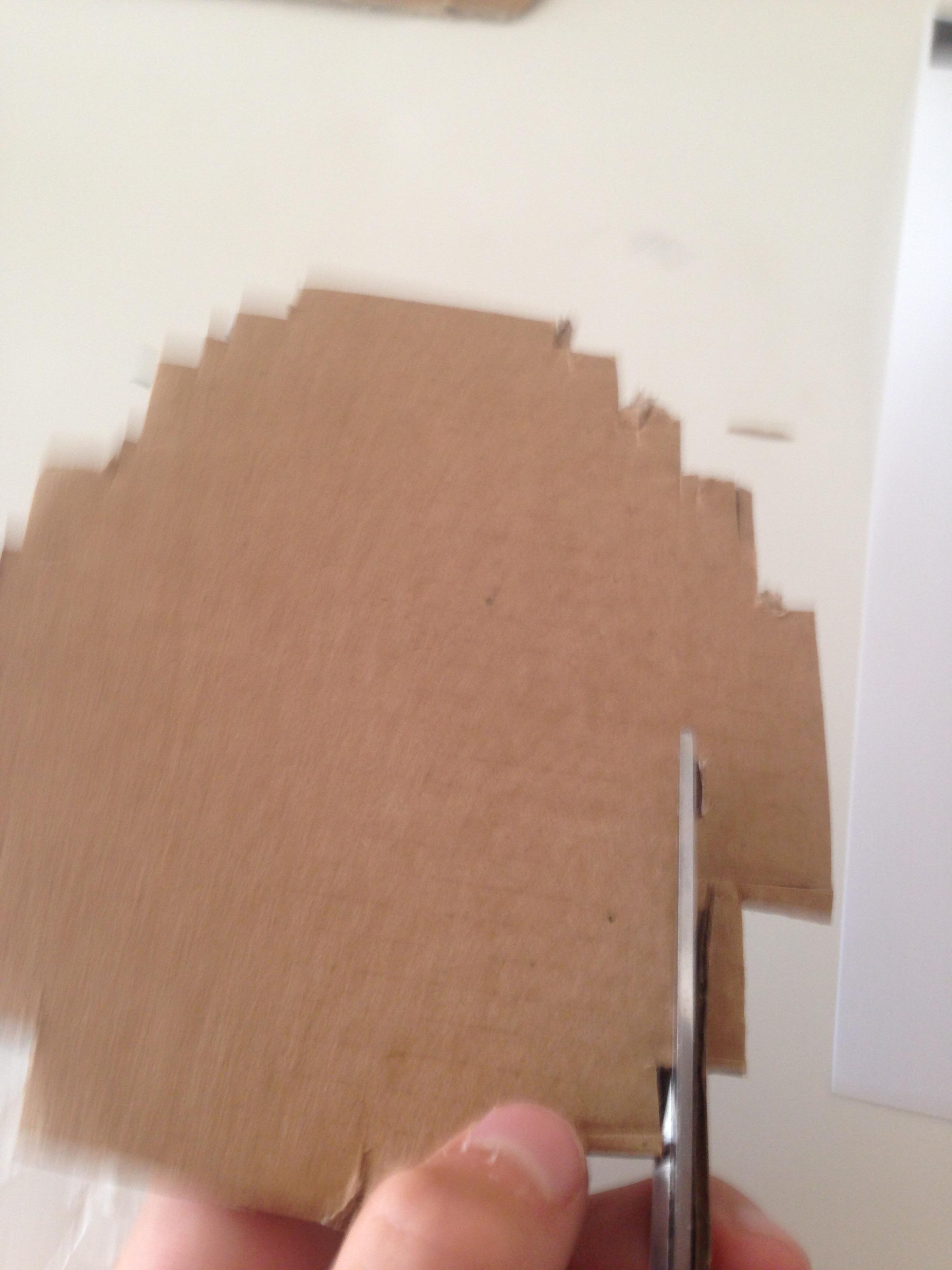 Picture of Cut Cardboard