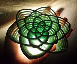Layered Sculpture Lamps