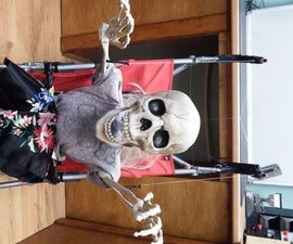 Halloween Scary Baby Prop