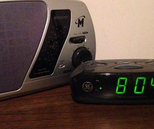 Clock/Radio Secret Compartment