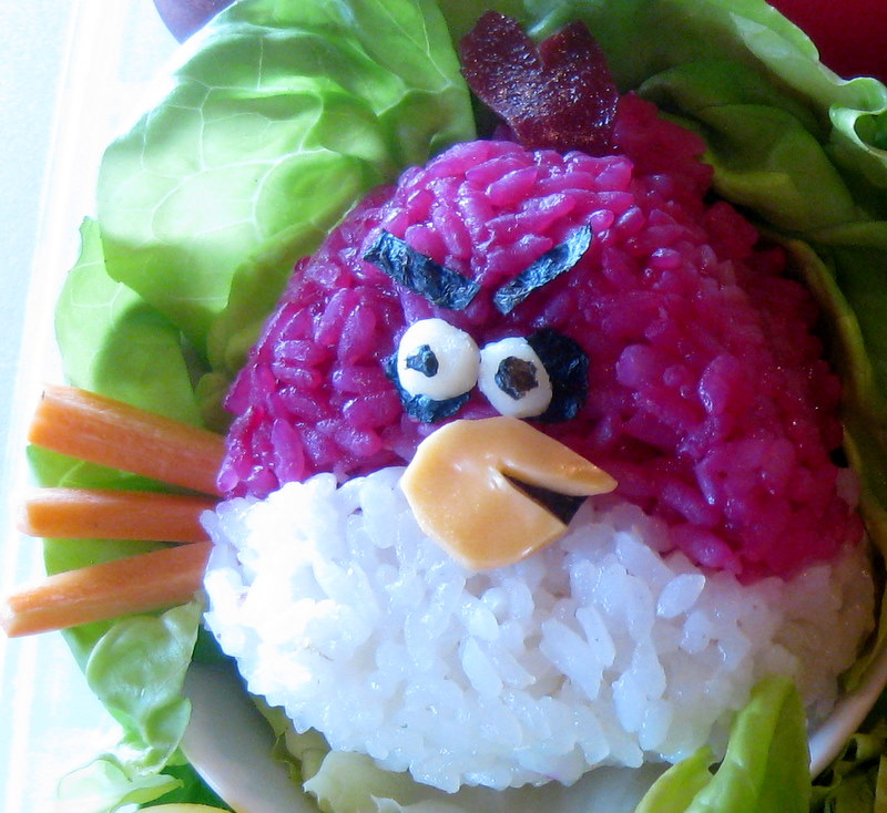 Picture of Make the Red Angry Bird