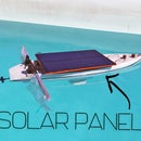 Solar panel Boat for Life Rescue