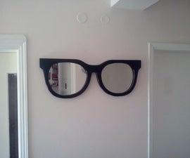 Wall mirror - sunglasses