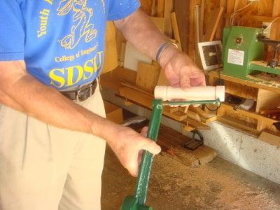 Making Wood Crank Handle