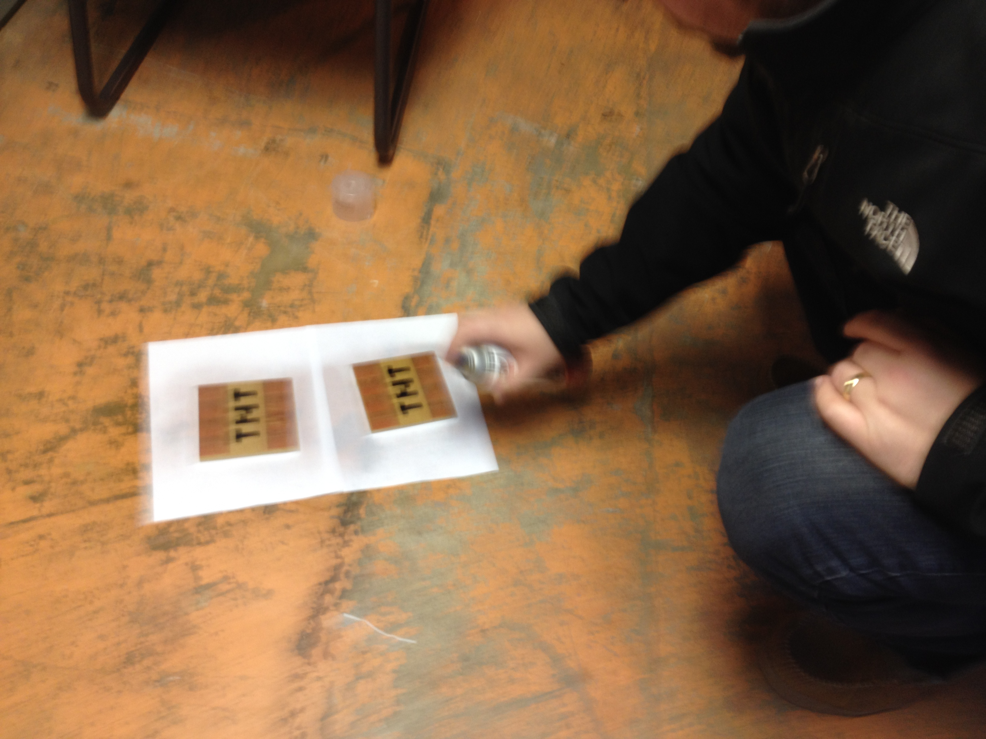 Picture of Transferring the Images to Your Wood Pieces