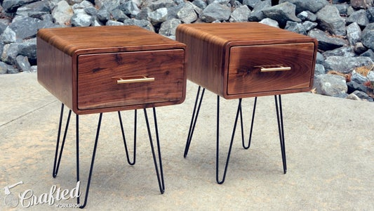 Enjoy Your Beautiful New End Tables!