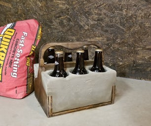Concrete Drink Caddy