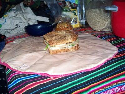 Reuseable Sandwich Holder