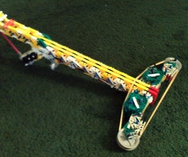 Knex Creeping Death MiniBow (How to build)