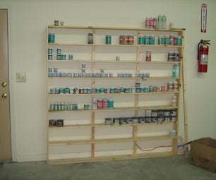Country Potter - Quick Bottle Shelf