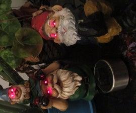 Solar Powered Creepy Garden Gnomes!
