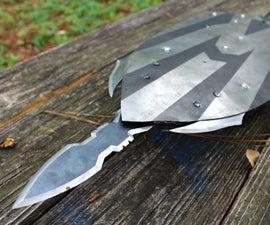 REAL Metal Captain America Infinity War Shield (with Hidden Blade)