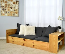 How to Make a SOFA That Turns Into a BED