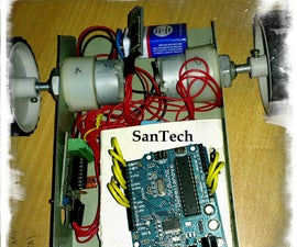 Android + Arduino + bluetooth controlled  RC Toy
