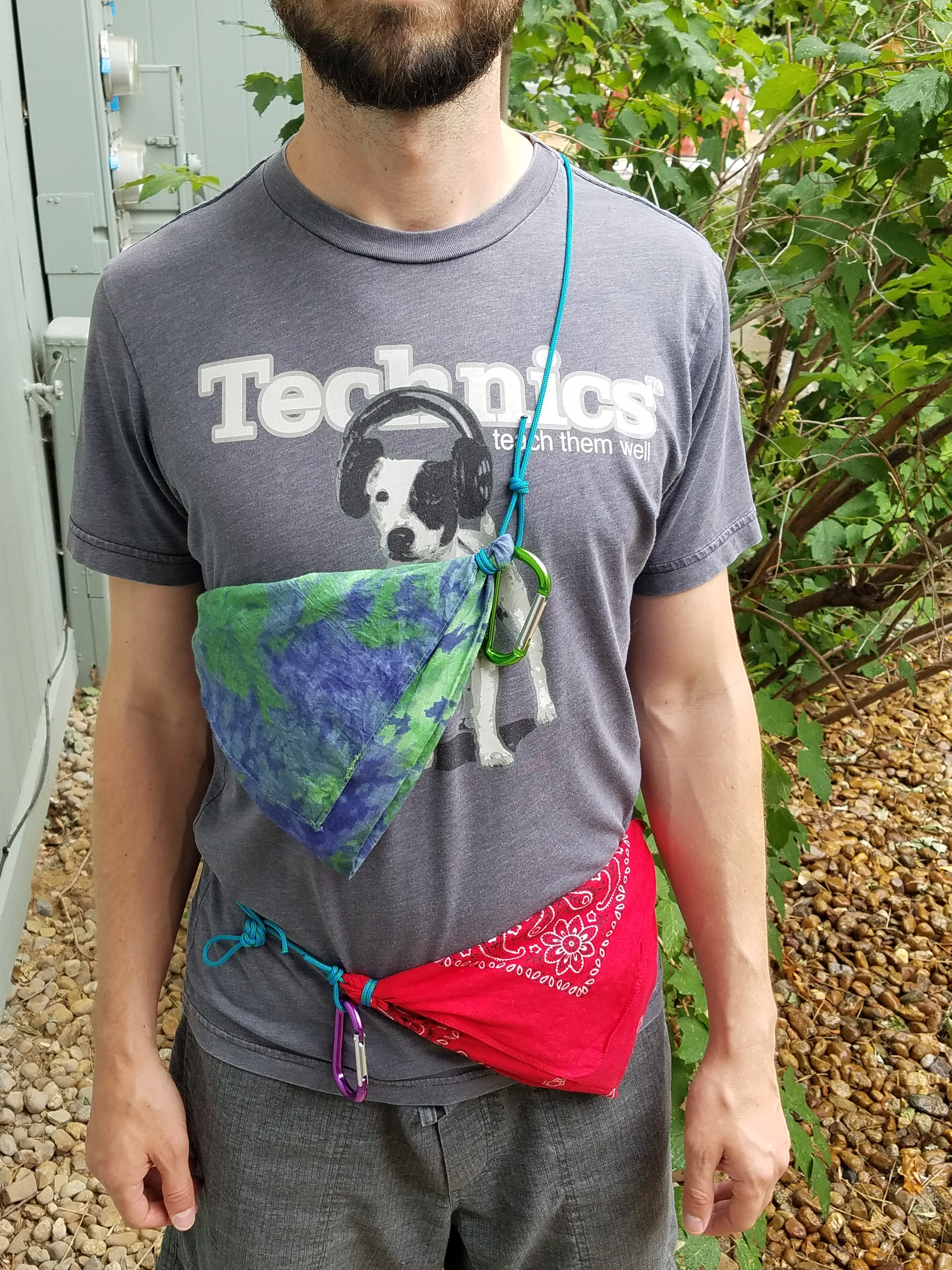 Picture of Bandana Sling Pack