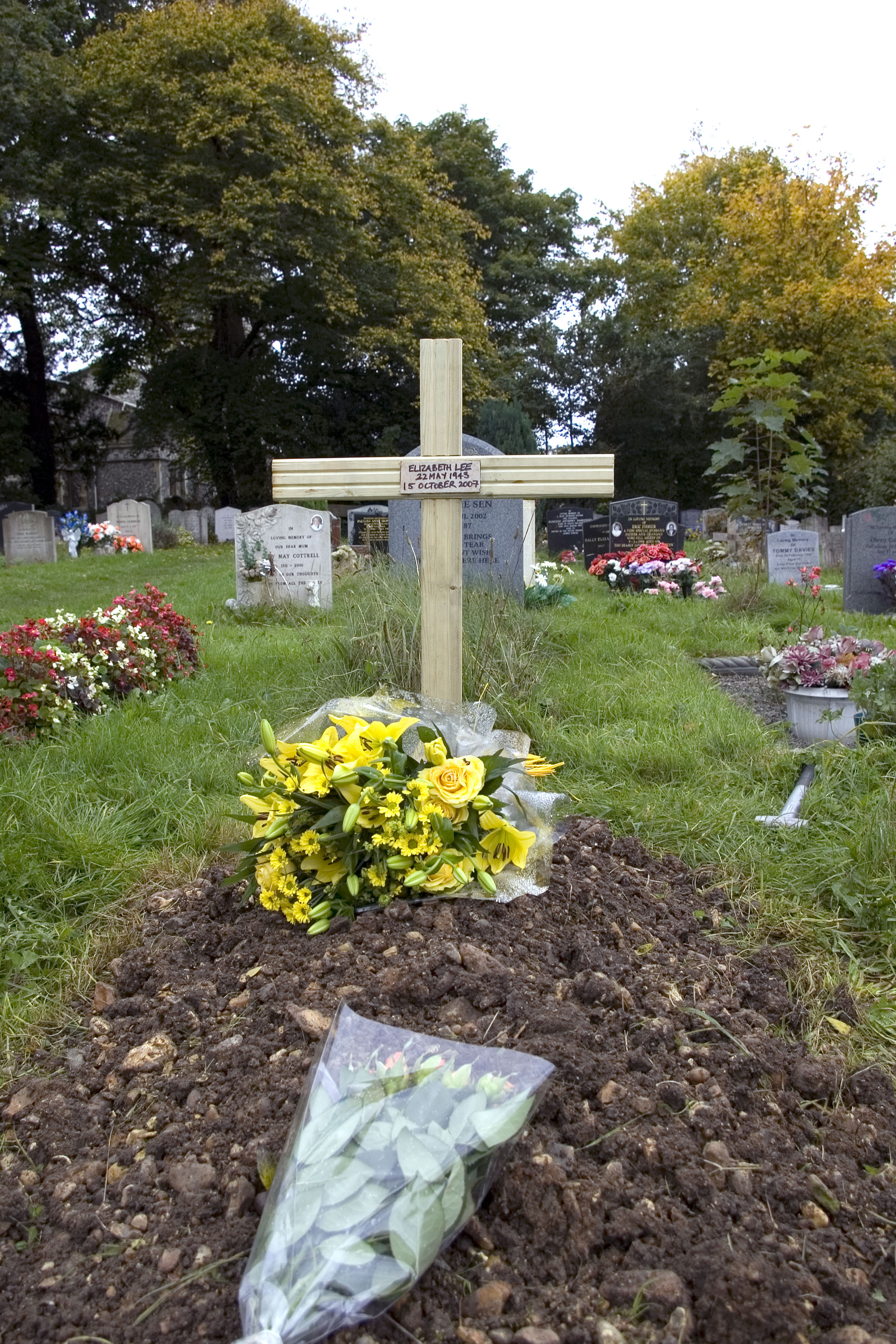 Picture of A Cross to Mark a Grave