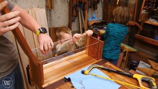 Installing the Plexiglass