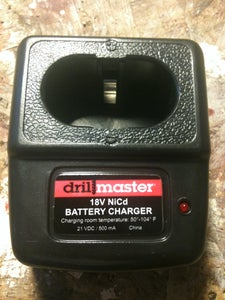 Harbor Freight Drill Charger Mod
