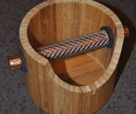 Wooden Espresso Knock Box