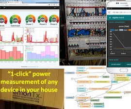 1-click Power Measurement of Any Device in Your House