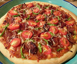 Bacon and Caramelized Onion Pizza