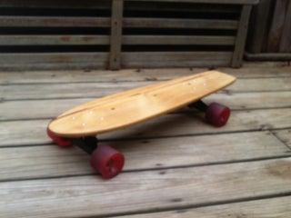Reclaimed Wood Skateboard