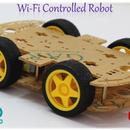 Wi-Fi Controlled 4-Wheeled Robot